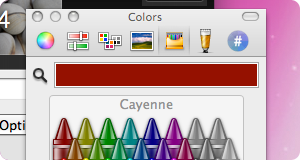 Space color preferences
